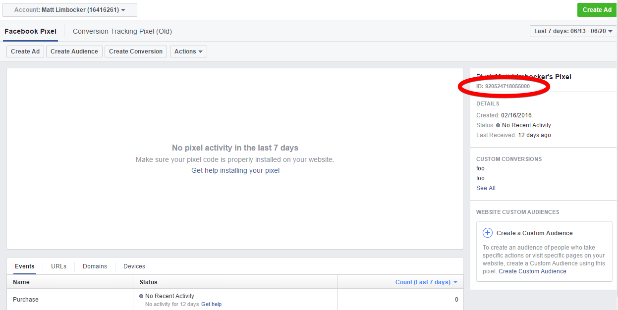 Can I use Facebook's conversion tracking pixel in Brushfire